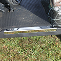 Sill Plate, Left Chrome, E-Z-Go TXT 96+