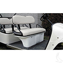 Kit - Seat Pod Assembly, White Center Seat, E-Z-Go TXT