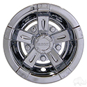 "Wheel Cover, 8"" Vegas Chrome"
