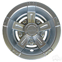 "Wheel Cover, 8"" Vegas Silver Metallic"