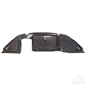 Dash Three Door, Carbon Fiber, Club Car Precedent 08.5+