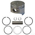 Piston and Ring Set, .50mm oversize, E-Z-Go 4-cycle Gas 91-02 295cc only, MCI