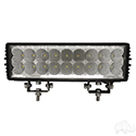 "Utility Light Bar, LED, 11"", Flood, 12V-24V 54W 4050 Lumen"