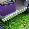 Rocker Panels, Diamond Plate, Club Car Tempo, Precedent