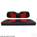 Seat Cover Set, RHOX Rhino Seat Kit, Rally Black/Red