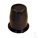 "Center Cap, Black 2.65"" (Metal)"